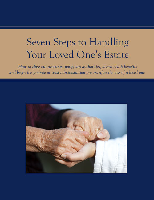 photo: Seven Steps To Handling Your Loved One's Estate